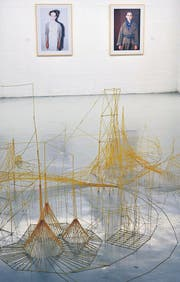Matthias Restles Spaghetti-Art und Fotografien von Mirjam Wanner. (Bild: Barbara Fatzer)