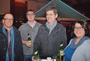 René Aerne, Christof Widmer, Armin Pfister, Conny Widmer.