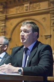 Der 53-jährige Martin Bürki gehört seit 2012 der Innerrhoder Regierung an. (Bild: apz)