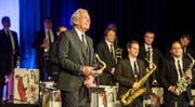 Pepe Lienhard kann vorerst nicht mehr mit seiner Big Band auf der Bühne stehen. (Bild: Reto Martin)