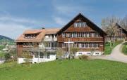 Der Kanton Appenzell Ausserrhoden mietet zwei Häuser im Kinderdorf Pestalozzi: Sie bieten Platz für 30 minderjährige Flüchtlinge. (Bild: mge)
