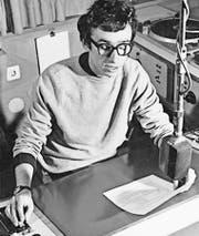 Da hiess die Sendung «Bestseller auf dem Plattenteller»: Alexander Felix 1969 im Radiostudio. (Bild: SRF)