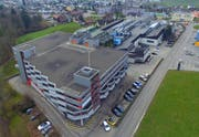 Das Areal der Wicon Group AG in Andwil. (Bild: pd)