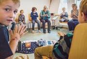 In Uesslingen hören Kinder auch heute noch biblische Geschichten. (Bild: Reto Martin (Reto Martin))