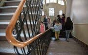 Das Projekt «Schule 2020» ist auch für die derzeit noch reine Mädchenschule St. Katharina zukunftsweisend. (Bild: Olivia Hug (13. Februar 2014))