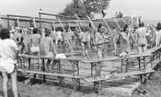 Die Ansprüche an sanitäre Anlagen waren 1987 noch nicht so hoch. (Bild: pd/Andreas Anderegg)