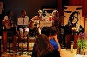 Unplugged: Die vier Schwestern von Pure Moments. (Bild: Dominik Bärlocher)