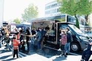 Erstes Street-Food-Festival im Stadtzentrum ein grosses Erlebnis (Bild: Hansruedi Rohrer)