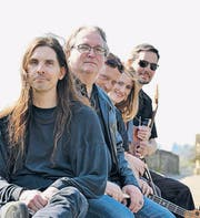 André Bollier, Eddy Sloof, Marcel Bollier, Eva Wey und Uwe Schäfer. (Bild: pd)
