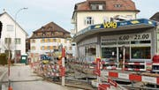 Der Volg in Horn: Der Dorfladen beherbergt seit Anfang Dezember eine Postagentur. (Bild: Perrine Woodtli)