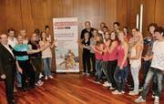 Sportlerehrung im Thurgauerhof: Diese Thurgauer haben an Welt- und Europameisterschaften teilgenommen. (Bilder: Margrith Pfister-Kübler)