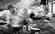 Blick in den Alltag im Leben einer kambodschanischen Familie. (Bild: Hannes Schmid)