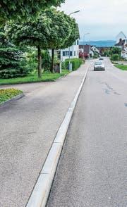 Randsteine entlang der Ottenbergstrasse in Berg. (Bild: Thi My Lien Nguyen)