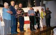 Das Ensemble des Seniorentheaters St. Gallen. (Bild: GR)