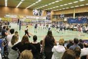 Volley Amriswil hofft wieder auf volle Zuschauerränge, wie hier im Playoff-Final gegen Lausanne. (Bild: Mario Gaccioli)