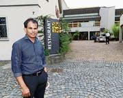 Chandran Saravanamuthu gibt den «Stadthof» endgültig ab. (Bild: Rudolf Hirtl (August 2016))