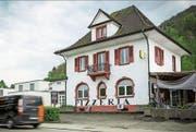 Schauplatz der Schlägerei: die Moschee in der ehemaligen Pizzeria im aargauischen Gebenstorf. (Bild: Chris Iseli/AZ)