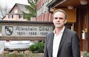 Markus Disch hat im Altersheim Gärbi die Gastgeberkultur geprägt. (Bild: Heini Schwendener)