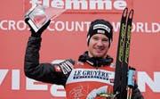 Dario Cologna gewinnt zum ersten Mal seit sechs Jahren die Tour de Ski. (Bild: EPA (Sonntag, 7. Januar 2017, Val di Fiemme))
