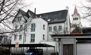 Das Verwaltungsgebäude von Evangelisch-Rorschach soll durch einen Neubau ersetzt werden. (Bild: Fritz Bichsel)