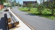 Bedeutender Gegenwert und mehrere Funktionen: Der Park WerkZwei. (Bild: Max Eichenberger)
