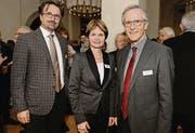 Politiker: David H. Bon, Brigitte Häberli, Claudius Graf-Schelling. (Bild: Nana do Carmo / TZ)