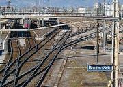 Die S-Bahn verkehrt zwischen Buchs und Feldkirch. (Bilder: pd)