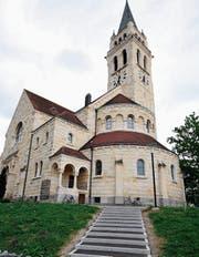 Auf dem Kirchengelände soll es einen modernen Postenlauf geben. (Bild: Nana do Carmo/16. Juni 2011)
