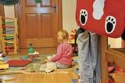 Kinder im Alter von drei Monate bis zum Schuleintritt werden in der Kita Wirbelwind betreut. (Bild: Lisa Wickart)