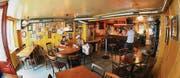 Das Restaurant Bären entwickelte sich in den vergangenen 20 Jahren zu einer alternativ angehauchten Beiz. Durch den Verkauf der Liegenschaft könnte aber bald Schluss sein. (Archivbild: Silvan Meile)