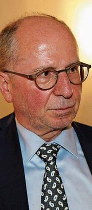 Ein gefragter Mann: Regierungspräsident Fredy Fässler.