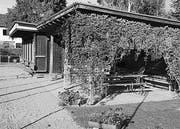 Das alte Clubhaus des TCK. (Bild: Kurt Peter)