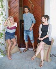 Marlene Berliat, Marc Nyffenegger und Carole Isler bringen Kultur in die Tiefenmühle. (Bild: Christine Luley)