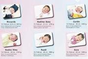 Eltern können im Spital Grabs einer Publikation in der Babygalerie des W&O zustimmen. Vor einigen Jahren war es zudem üblich, dass alle Werdenberger Gemeinden die Geburten vermeldeten. (Bild: Archiv W&O)