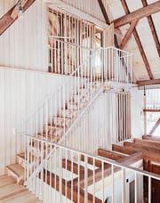 Beispiel: Umbau Bauernhaus am Zürichsee (Käferstein + Meister Architekten). (Bild: Foto: PD/Jürgen Beck)