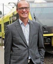 Felix Gemperle, Mitglied und Sprecher des Vereins Kein 3. Autobahnanschluss. (Bild: rtl)