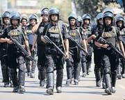Im Visier von Kritikern: Die Spezialeinheit RAB in Bangladesh. (Bild: epa/Abir Abdullah)