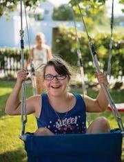 Joanna Rohner, 14 Jahre alt, hat das Down-Syndrom. (Bild: Luca Linder)