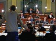 Das Kantonsratspräsidium möchte für Ratsbeobachtung nicht zahlen. (Bild: Regina Kühne)