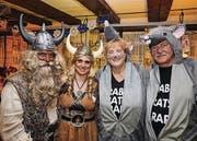 Hansi und Manuela Bär mit Karin Friedrich-Rusch und Walter Rusch.