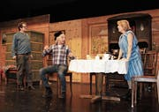 Die Proben sind im Gang. Am 10. März feiert das Dorftheater Premiere im Ochsensaal. (Bild: PD)