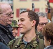 Hauptdarsteller Max Hubacher drehte 2016 in Frauenfeld. (Bild: A. Stalder)