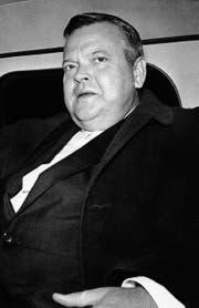 Orson Welles: ein Wunderkind des Radios und der Filmindustrie, der mit 26 den Klassiker «Citizen Kane» drehte. (Bild: AP (London, 29. Oktober 1963))