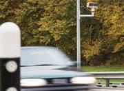Jede Autonummer wird gescannt: Überwachungsgeräte zwischen Matzingen und Frauenfeld. (Bild: Reto Martin)