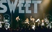 The Sweet spielen am Freitag auf der Raiffeisenbühne. (Bild: Vytauto Petriko nuotrauka)