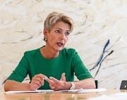 Ständerätin Karin Keller-Sutter ist der unbestrittene Star der FDP des Kantons St. Gallen. (Bild: Hanspeter Schiess)