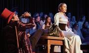Der Musicalverein Crossnews hat auf der Bühne in Hauptwil sein Heimspiel. (Bild: Yvonne Aldrovandi-Schläpfer)