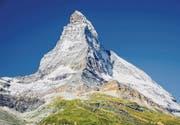 Die erstmalige Besteigung des Matterhorns im Jahr 1865 wird Musical-Stoff am Theater St. Gallen. (Bild: ky)