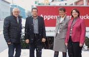 Renzo Andreani, Markus Rusch, Marianne Koller-Bohl und Karin Jung. (Bild: pd)