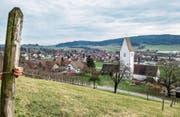 Vom Kirchbergerbühl lässt sich das ganze Dorf bis zum Immenberg überblicken. (Bild: Reto Martin)